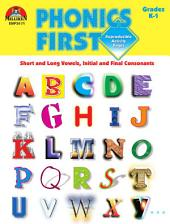 Phonics First - Grades K-1 (ENHANCED eBook)