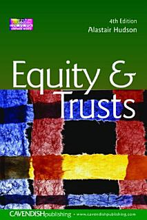 Equity and Trusts Book