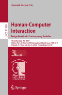 Human-Computer Interaction. Design Practice in Contemporary Societies