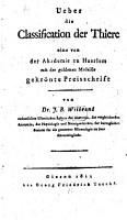 Ueber die Classification der Thiere PDF