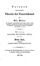 Versuch einer geordneten Theorie der Tonsetzkunst: Band 2