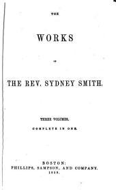 The Works of the Rev. Sydney Smith