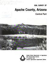 Soil Survey of Apache County, Arizona, Central Part