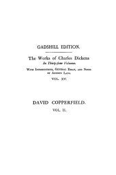 The Personal History of David Copperfield, Vol. II ~ Paperbound