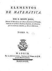 Elementos de matemática: Volumen 5