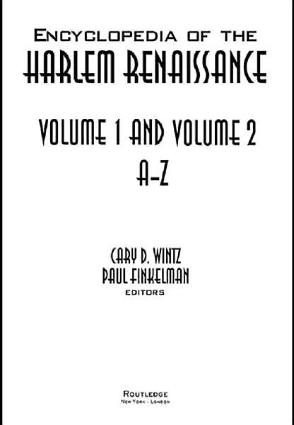 Download Encyclopedia of the Harlem Renaissance Book
