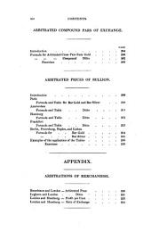 A Manual of Foreign Exchanges: In the Direct, Indirect, and Cross Operations of Bills of Exchange and Bullion; Including an Extensive Investigation of the Arbitrations of Exchange, According to the Practice of the First British and Foreign Houses, with Numerous Formulæ and Tables of the Weights and Measures of Other Countries, Compared with Imperial Standards