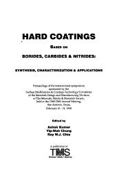 Hard Coatings Based on Borides, Carbides & Nitrides