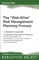 The  Risk Wise  Risk Management Planning Process PDF