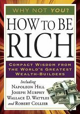 How to Be Rich PDF