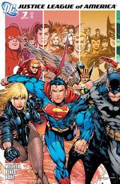 Justice League of America (2006-) #7