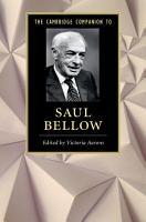 The Cambridge Companion to Saul Bellow PDF
