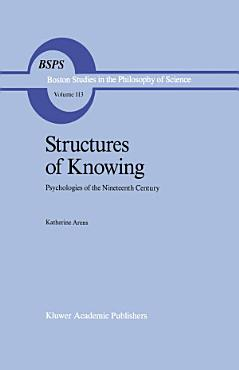 Structures of Knowing PDF