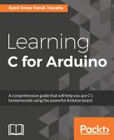 Learning C for Arduino PDF