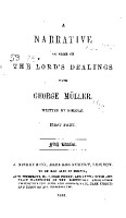 A Narrative of Some of the Lord s Dealings with George M  ller PDF