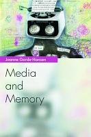 Media and Memory PDF