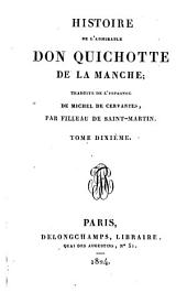 Histoire de l'admirable don Quichotte de la Manche [tr.by F. Filleau de Saint-Martin].