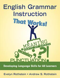 English Grammar Instruction That Works  Book
