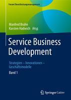 Service Business Development PDF
