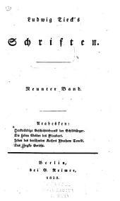 Ludwig Tieck's Schriften: bd. Denkwürdige geschichtschronik der schildbürger. Die sieben weiber des Blaubart. Leben des berühmten kaisers Abraham Tonelli. Das jüngste gericht