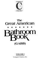 The Great American Bathroom Book