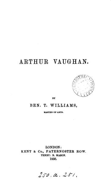 Download Arthur Vaughan Book