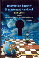 Information Security Management Handbook, Sixth Edition