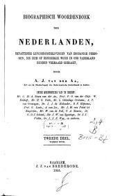 Biographisch woordenboek der Nederlanden, bevattende levensbeschrijvingen van zodanige personen, die zich op eenigerlei wijze en ons vaderland hebben vermaard gemaakt: Volume 2,Nummer 4