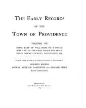 The Early Records of the Town of Providence, V. I-XXI ...