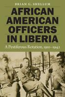 African American Officers in Liberia PDF