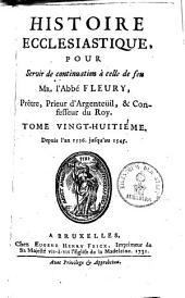 Histoire Ecclesiastique: Depuis l'an 1536 jusqu'en 1545, Volume28