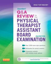 Saunders Q&A Review for the Physical Therapist Assistant Board Examination - E-Book