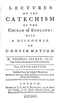 Lectures on the catechism of the Church of England  with a discourse on Confirmation  publ  by B  Porteus and G  Stinton PDF