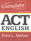 The Complete Guide to ACT English  2nd Edition Book