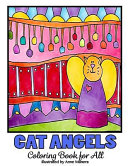 Cat Angels Coloring Book for All