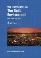 Eco Architecture VII PDF