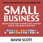 Small Business: Instant Action Ideas to Boost Sales, Maximize Profits, and Crush Your Competition (Small Business, Low Cost Marketing, Advertising, Digital Marketing, Social Media Marketing)