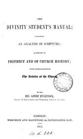 The divinity students manual