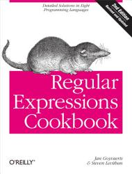 Regular Expressions Cookbook Book PDF