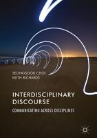 Interdisciplinary Discourse PDF