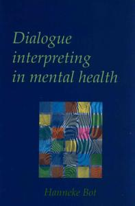 Dialogue Interpreting in Mental Health Book