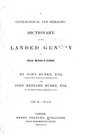Burke s Genealogical and Heraldic History of the Landed Gentry PDF