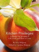 Kitchen Privileges Book PDF