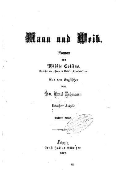 Mann und Weib PDF