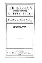 The Ink-stain (Taché D'encre)