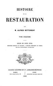 Histoire de la Restauration: V