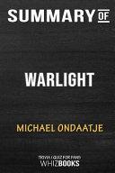 Summary of Warlight  A Novel  Trivia Quiz for Fans PDF
