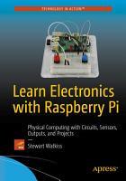 Learn Electronics with Raspberry Pi PDF