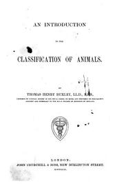 An Introduction to the Classification of Animals