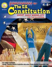 Jumpstarters for the U.S. Constitution, Grades 4 - 8: Short Daily Warm-ups for the Classroom